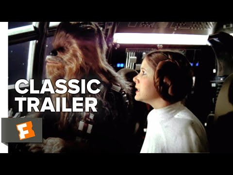 Star Wars: Episode IV - A New Hope (1977) Teaser Trailer #1   Movieclips Classic Trailers
