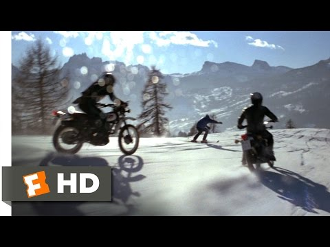 For Your Eyes Only (4/10) Movie CLIP - Motorcycle Ski Chase (1981) HD