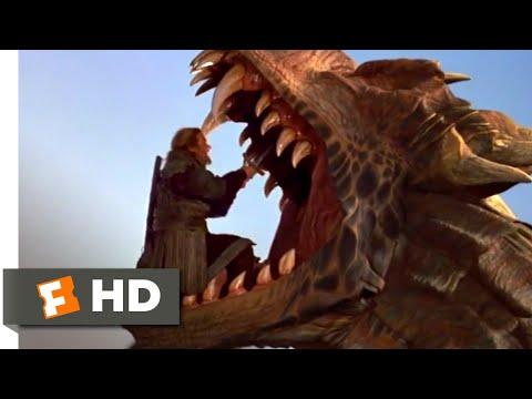 Dragonheart (1996) - The Dragon's Maw Scene (2/10)   Movieclips