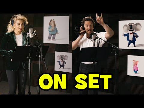 Behind The Scenes With SING Voice Cast
