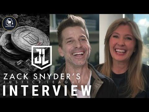 Zack Snyder's Justice League Interviews With Zack Snyder & Deborah Snyder