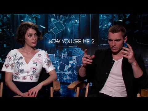 Now You See Me 2: Dave Franco & Lizzy Caplan Official Movie Interview | ScreenSlam
