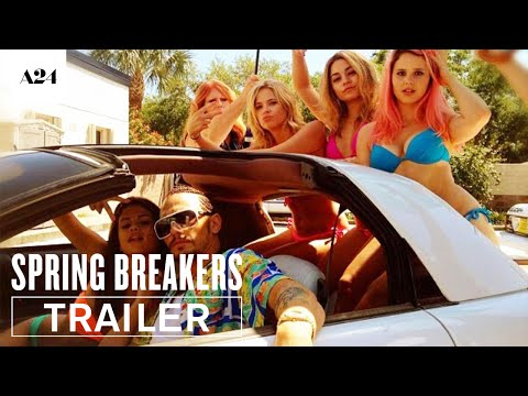 Spring Breakers   Official Trailer HD   A24