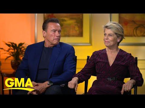 Arnold Schwarzenegger and co-star Linda Hamilton return to 'Terminator' l GMA