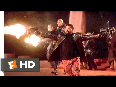 John Carpenter's Ghosts of Mars (2001) - Battling the Possessed Scene (5/10)   Movieclips