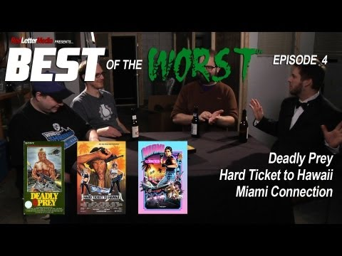 Best of the Worst: Deadly Prey, Hard Ticket to Hawaii, and Miami Connection