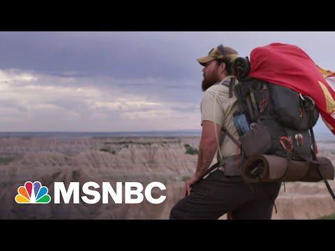 Combat Veteran's Walk Across U.S. Captured In New Documentary   MSNBC
