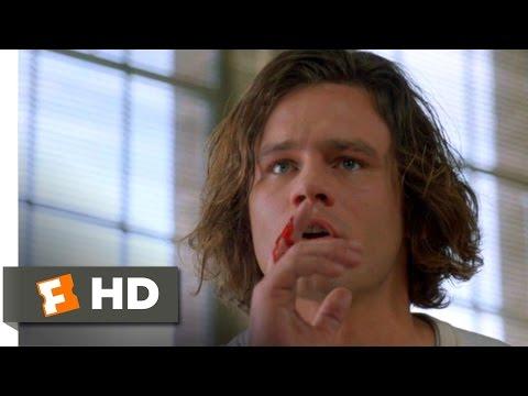 Three O'Clock High (7/10) Movie CLIP - Buddy's Library Dominos (1987) HD