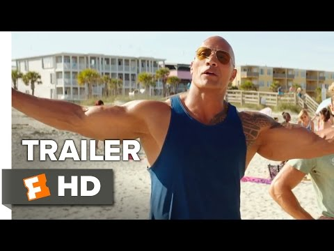 Baywatch Official Trailer - Teaser (2017) - Dwayne Johnson Movie