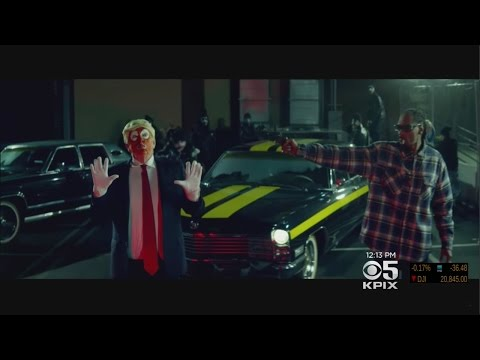 Snoop Dogg Criticized Over New Video Featuring Clown Dressed As President