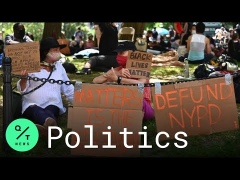 """""""Defund the Police:"""" Why Protesters Are Occupying New York City Hall"""