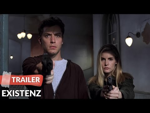 eXistenZ 1999 Trailer   David Cronenberg   Jude Law   Jennifer Jason Leigh