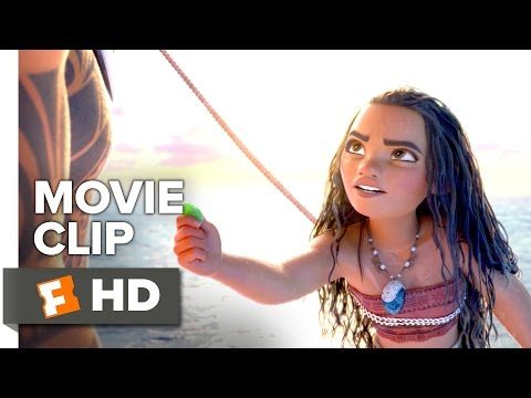Moana Movie CLIP - Ocean Insists (2016) - Dwayne Johnson Movie