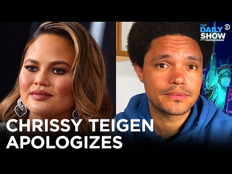 Chrissy Teigen Apologizes for Online Bullying | The Daily Show