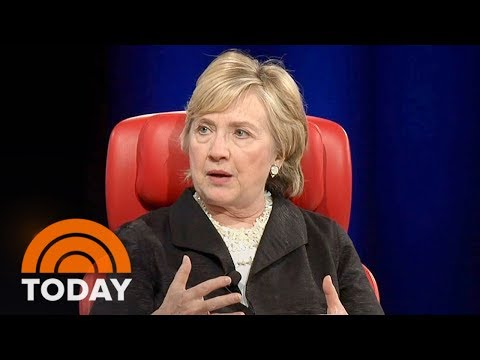 Hillary Clinton Blames Russians, James Comey, Fake News For Her Defeat In 2016   TODAY