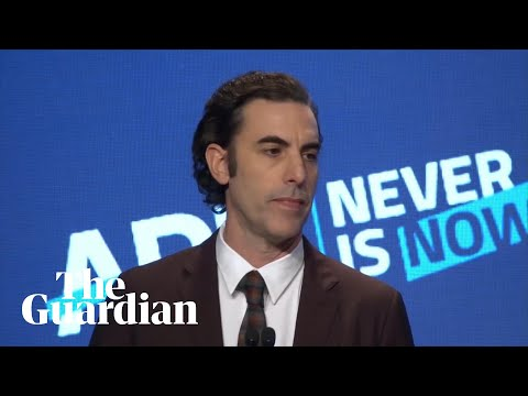 'They would have let Hitler buy ads': Sacha Baron Cohen's scathing attack on Facebook