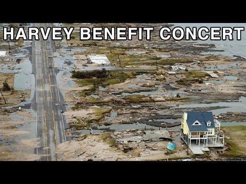 Hurricane Harvey Benefit Concert in a Guy's Living Room