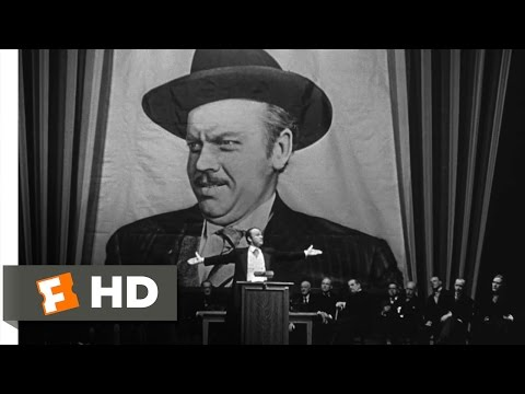 Citizen Kane - Campaign Promises Scene (5/10)   Movieclips