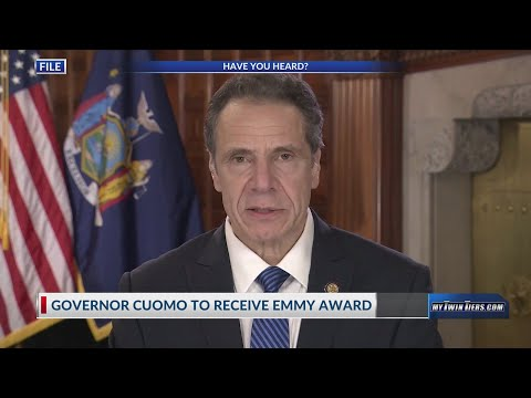 Gov. Cuomo to receive Emmy Award for daily COVID-19 briefings