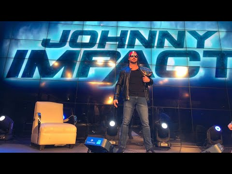 John Hennigan Behind the Scenes @ Impact Wrestling