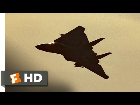 Top Gun (4/8) Movie CLIP - Buzzing the Tower (1986) HD