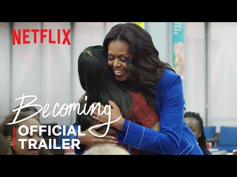 Becoming   Official Trailer   Netflix