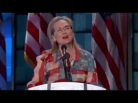 Meryl Streep at DNC 2016