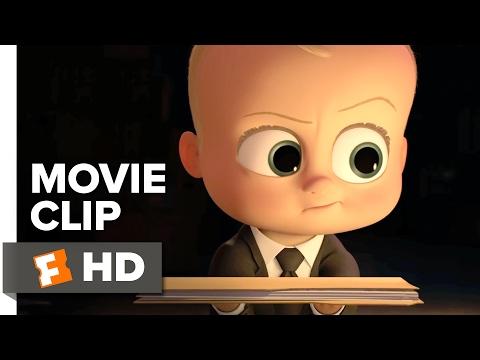 The Boss Baby Movie CLIP - Baby Break In (2017) - Alec Baldwin Movie