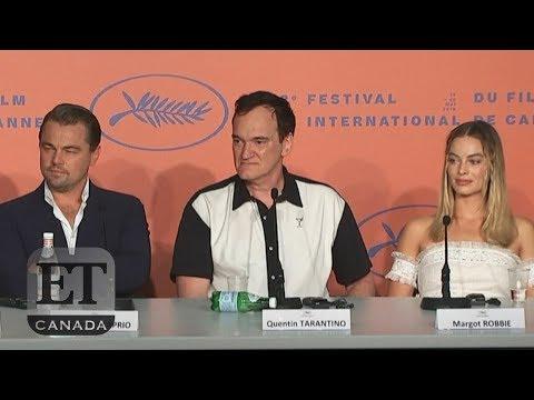 Quentin Tarantino Shuts Down Margot Robbie Question At Cannes