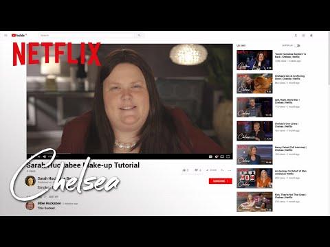 Sarah Sanders Make-Up Tutorial | Chelsea | Netflix