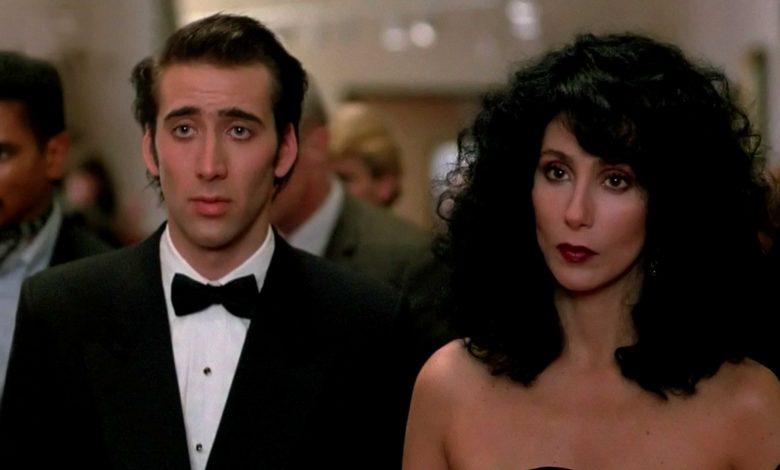 Nicolas Cage, Cher in Moonstruck