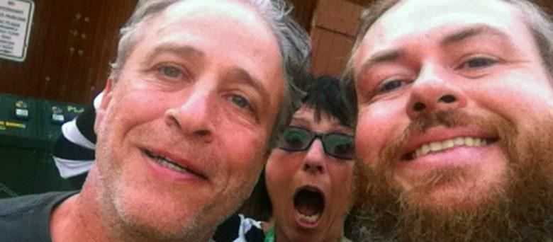 Jon Stewart-telluride-selfie