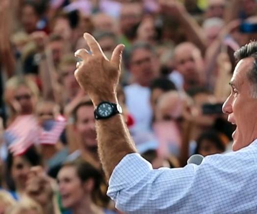 """Mitt Romney in the Netflix documentary """"Mitt."""" Photo courtesy of Netflix"""