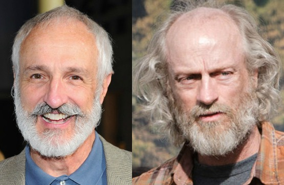 Michael Gross, left, and Russell Hodgkinson, right.