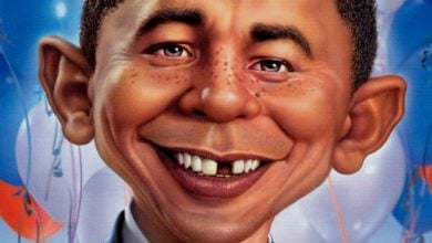 Photo of Is Mad Magazine Tougher on Obama Than Today's Comics?