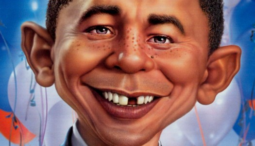 Is Mad Magazine Tougher on Obama Than Today's Comics?
