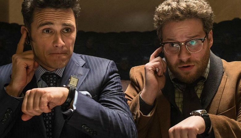 James Franco, Seth Rogen in The interview