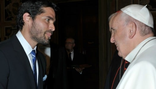 'Little Boy' Producer Gifts Screener to Pope Francis