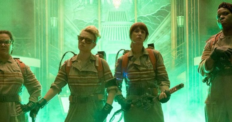 The all female Ghostbusters reboot