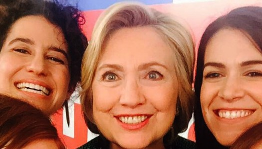 Clinton's 'Broad City' Cameo Apolitical? Horse****