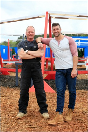 Tim tebow mike holmes home free