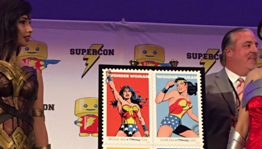 Wonder Woman Immortalized on USPS Stamps