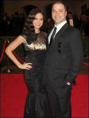Laura Orrico and Ryan Cosgrove