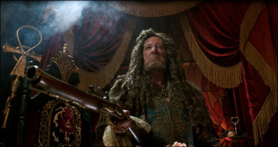 Dead Men Tell No Tales Geoffrey Rush Barbossa