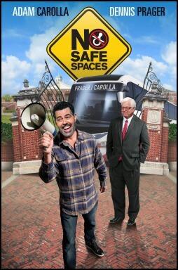 no safe spaces movie poster carolla prager