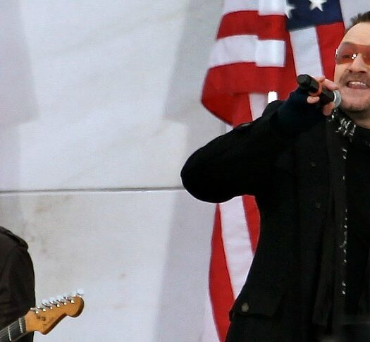 u2 attacks trump joshua tree tour (1)