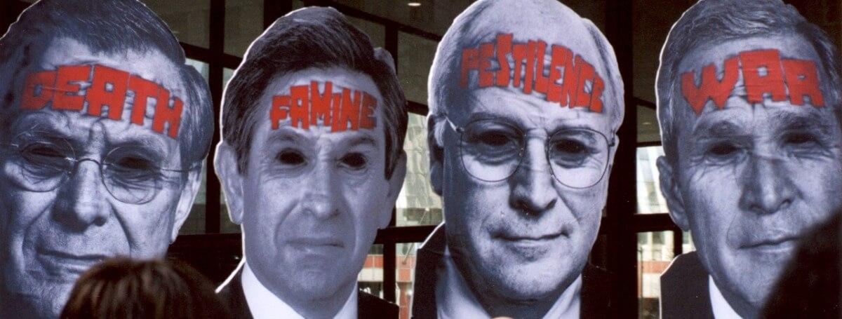 artists killing republican presidents bush trump