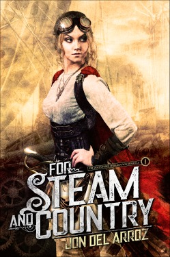 for steam and country book cover