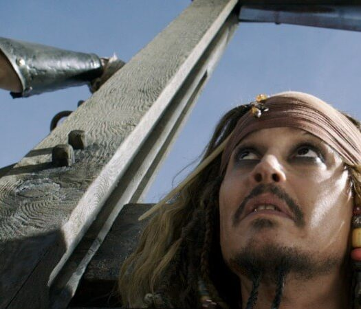 Johnny Depp career help Pirates Caribbean Jack Sparrow