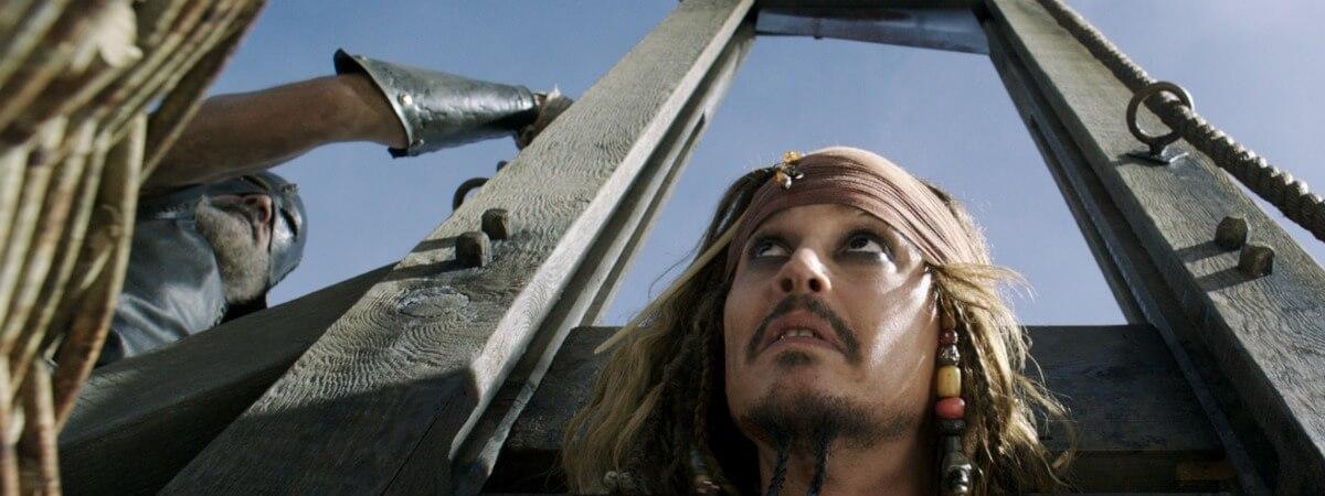 Johnny Depp career help Pirates Caribbean Jack Sparrow